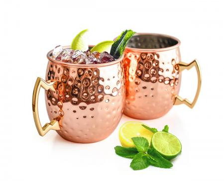 moscow mule becher 500 ml handgemachter kupferbecher moskau mule kupfertassen cocktailkrug sendez. Black Bedroom Furniture Sets. Home Design Ideas